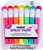 Tulip I Love to Create Fabric Mini Spray Paint Kit-Neon