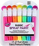 Tulip Fabric Spray Sets -7pk Neon