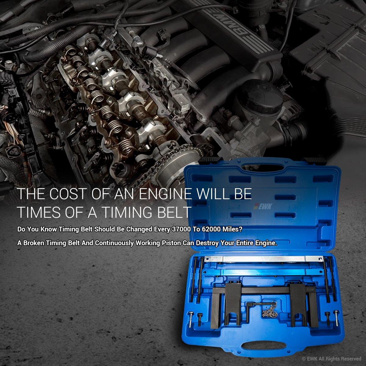 Ewk Engine Timing Cam Camshaft Alignment Locking Tool 2008 Mini Cooper Belt Kit For Bmw N51 N52 N53 N54 110300 114280 114290 118520 Automotive