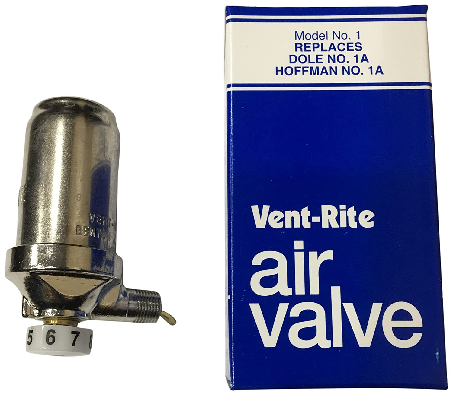 """Emerson Swan 1 8""""Angle Steam Vent, Adjustable"""