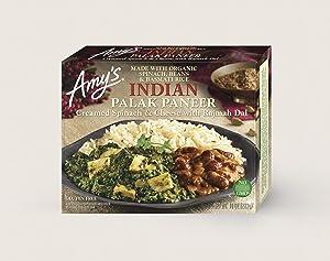 Amy's Indian Palak Paneer, Non GMO, 10-Ounce