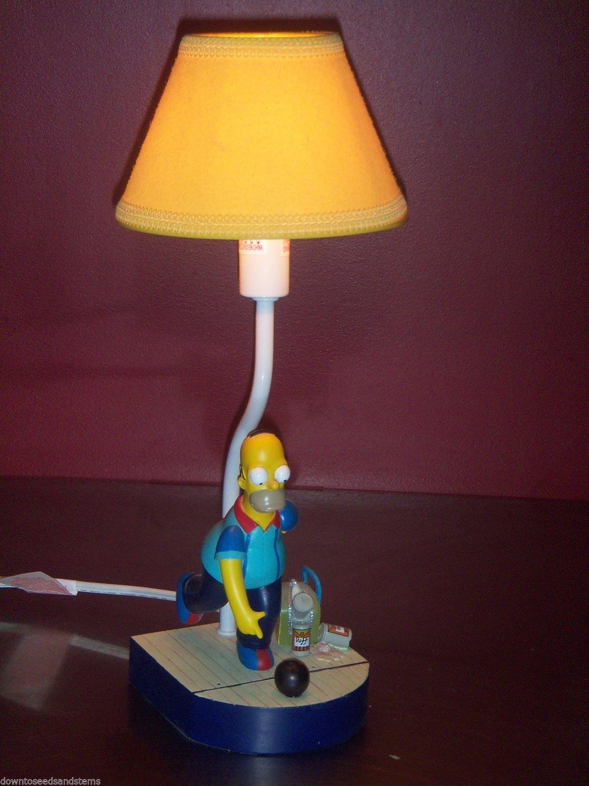 Homer Simpson Bowling Lamp