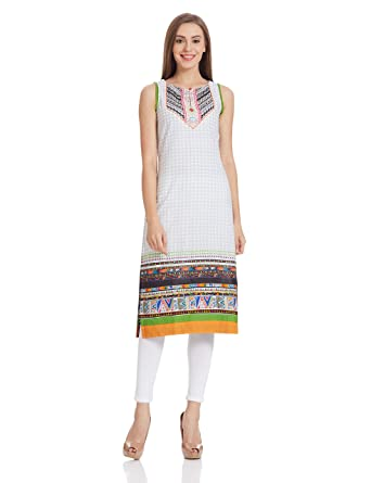901b2cce87408 Style Quotient by noi Women s Tunic Top (SS16SQPL-07 White XX-Large)   Amazon.in  Clothing   Accessories