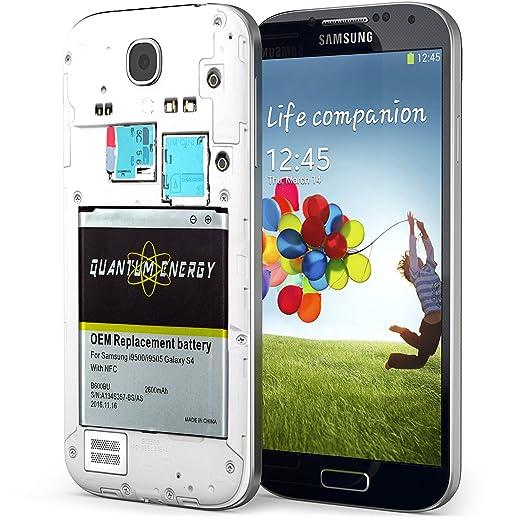 Amazon.com: Batería 2,600 mAh S4 QUANTUM ENERGY para Samsung ...