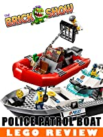 LEGO City Police Patrol Boat Review (60129)
