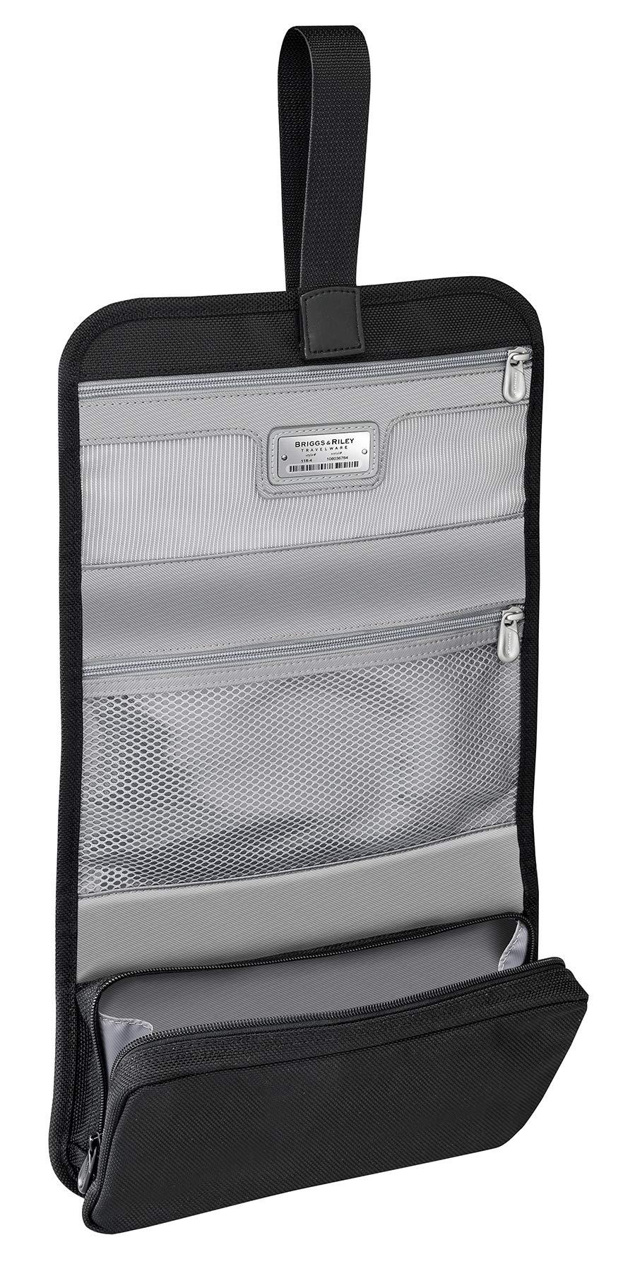 Briggs & Riley Baseline Compact Toiletry Kit, Black, Medium by Briggs & Riley (Image #2)