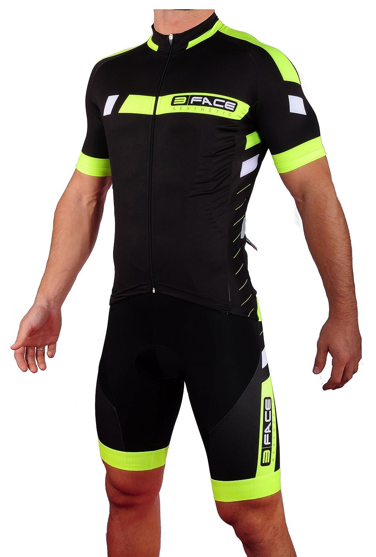 Completo estivo ciclismo maglia + salopette Threeface