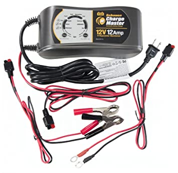 Amazon.com: SCHAUER 9 Fase 12 Volt Cargador de batería ...
