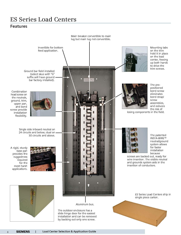 Siemens S2020B1100P 20 Space 20 Circuit 100 Amp Main Breaker Indoor Load Center Value Pack by Siemens (Image #2)