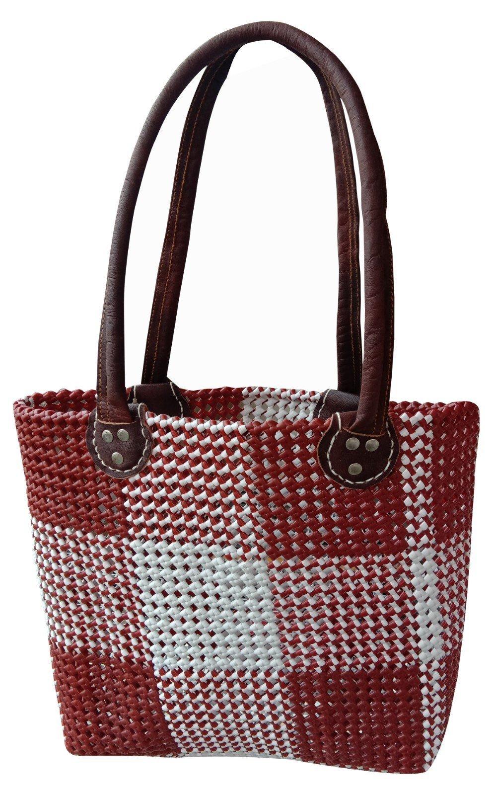 LS13. Inch Handmade Handbag HandPurse Handbag, Shopping Bag, Tote Bag, Handbag for Unisex
