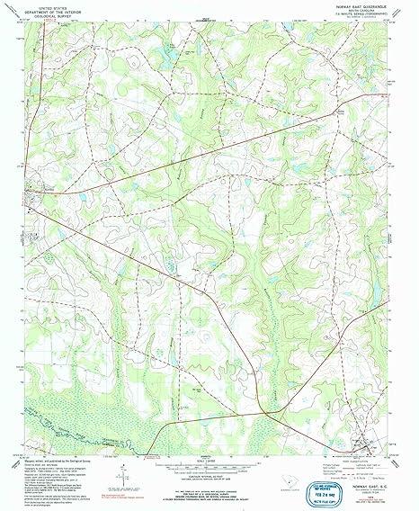 Topographic Map Of Norway.Amazon Com Yellowmaps Norway East Sc Topo Map 1 24000 Scale 7 5