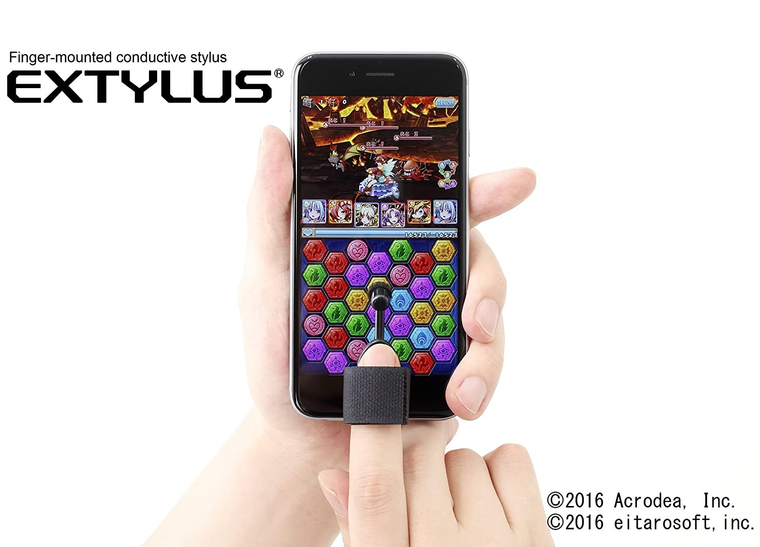 Miyuki Glove Co Ltd Finger Mounted Conductive Stylus Making Traces For Capacitive Touchscreens Electrical Extylus Touch Screen Smartphonecell Phonetablets Computers Accessories