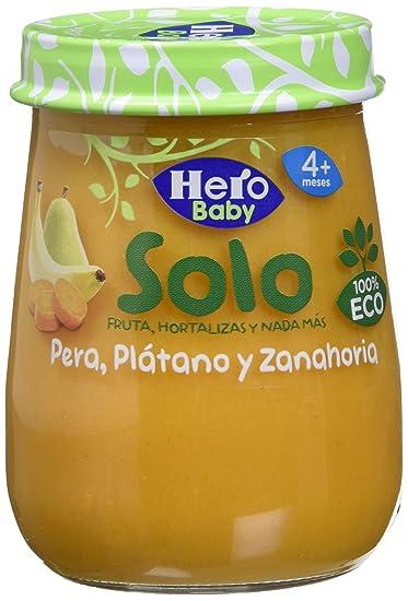 Hero Baby Pera, Zanahoria y Plátano - 120 gr