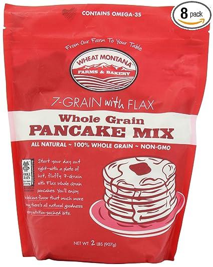Amazoncom Wheat Montana Bag Pancake Mix 7Grain with Flax 2