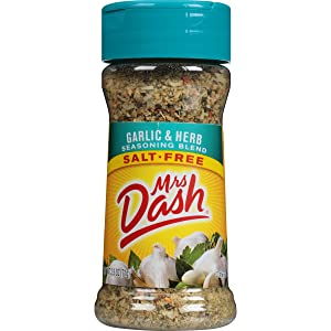 Mrs Dash Seasoning Blend, Garlic and Herb, 2.5 Ounce