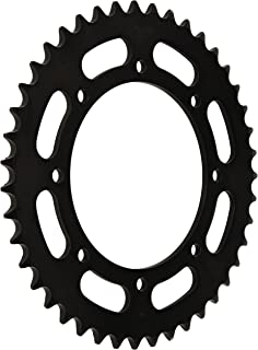 amazon sunstar 35916 16 teeth 520 chain size front countershaft KLR 650 Saddlebags sunstar 2 353243 43 teeth 520 chain size rear steel sprocket