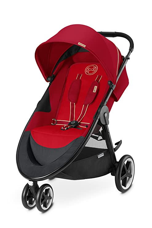 CYBEX Agis M-Air3 Baby Stroller, Hot and Spicy by Cybex