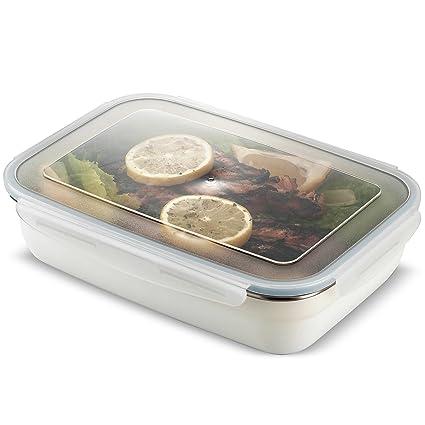 Amazoncom Komax Stenkips Stainless Steel Food Storage Lunch