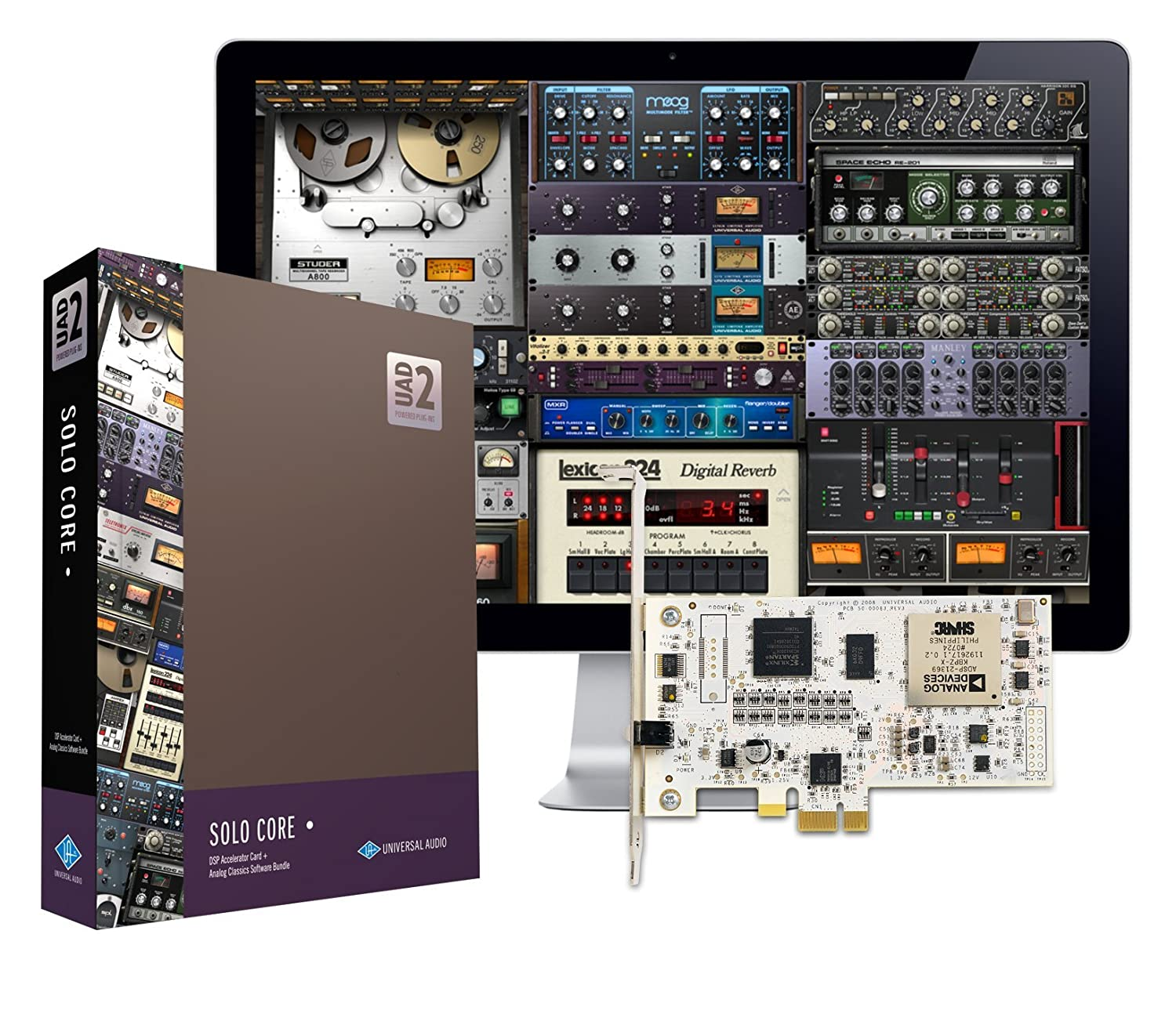 Universal Audio UAD-2 SOLO Core PCIe DSP Accelerator Package PCISCO