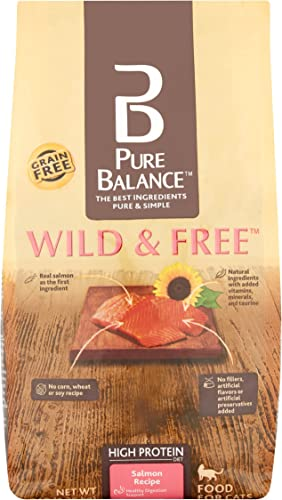 Pure Balance Salmon Dry Cat Food, 3 lb