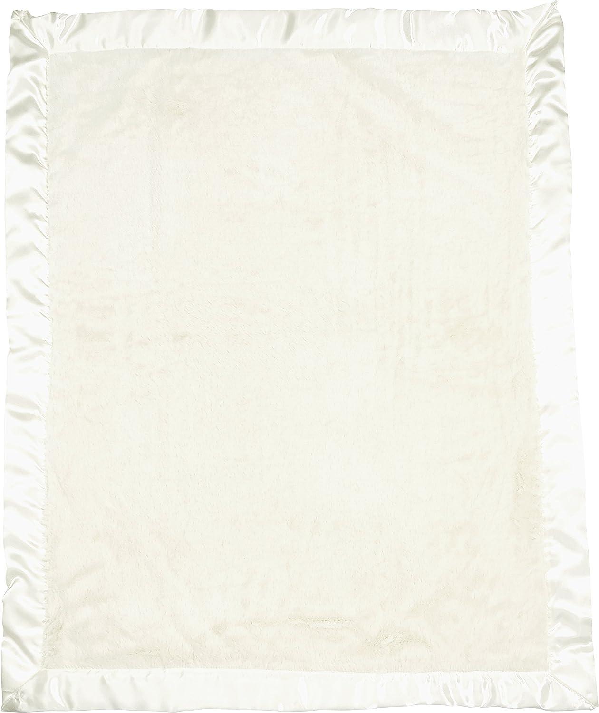 Bearington Bears Baby Cream Silky Soft Crib Blanket