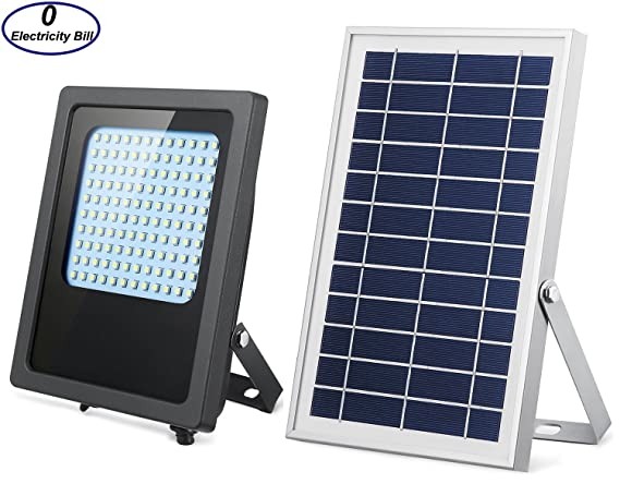 Amazon solar lights outdoor 120led solar flood light solar lights outdoor 120led solar flood light weatherproof solar powered lights solar flood lights outdoor auto mozeypictures Images