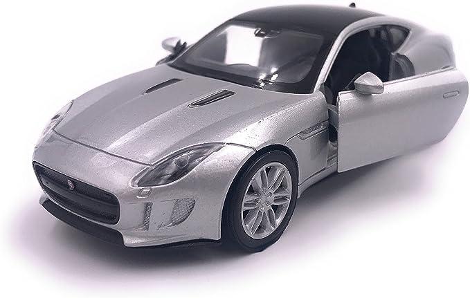H Customs Jaguar F Type Modellauto Auto Lizenzprodukt 1 34 1 39 Silber Auto