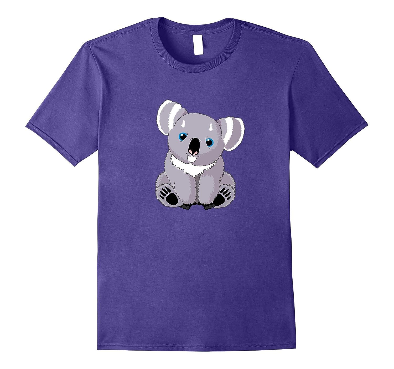 Koala Emoji T-shirt Emoticon Cute Koala Bear Smile TShirt-TD