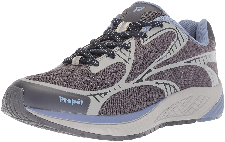 Propét Women's Propet One Lt Sneaker B073DQPGQN 13 4E US|Lavender/Grey