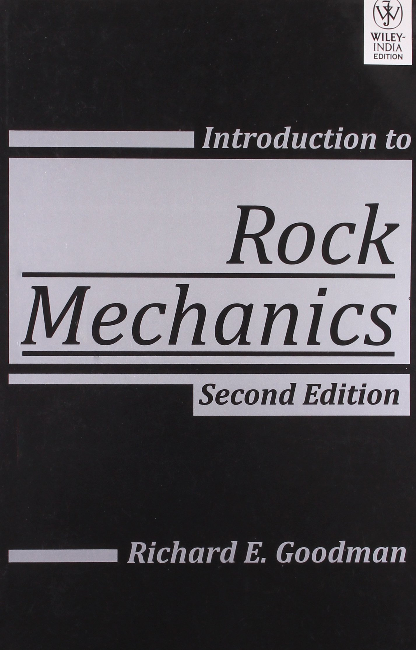 introduction to rock mechanics goodman