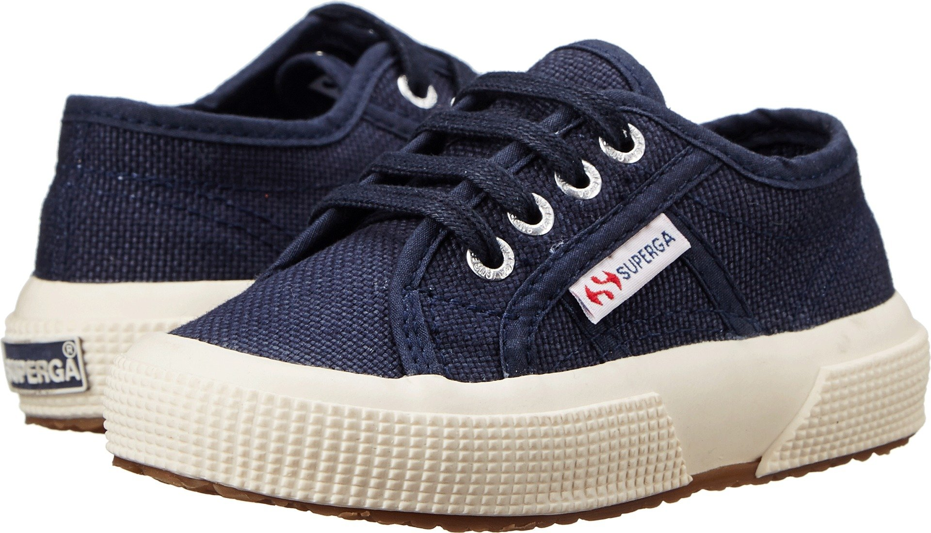 Superga Boys' 2750 JCOT - K, Navy, 27 EU(10.5 M US Little Kid)