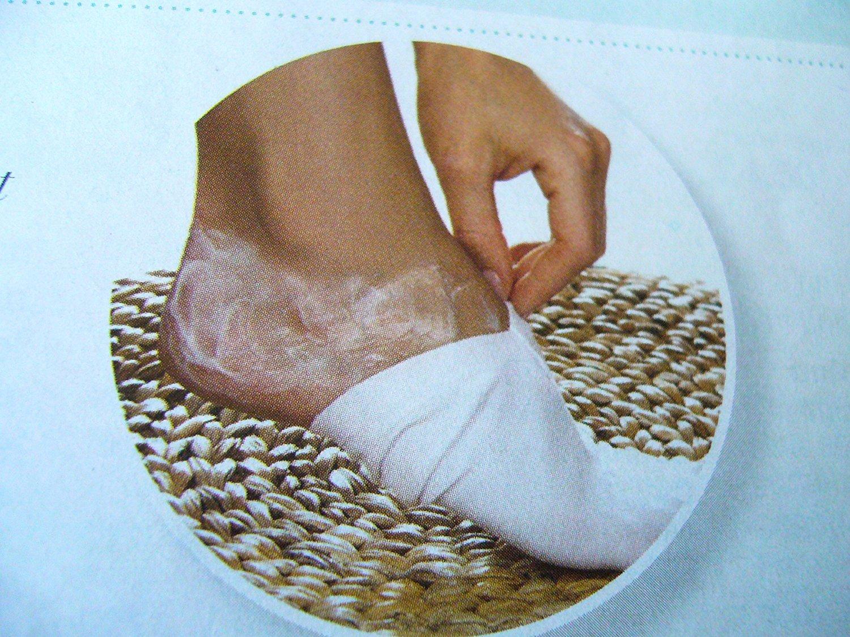 Fuß- Feuchtigkeits Pediküre Schlaf Socken 92% baumwolle 8% elastan Avon