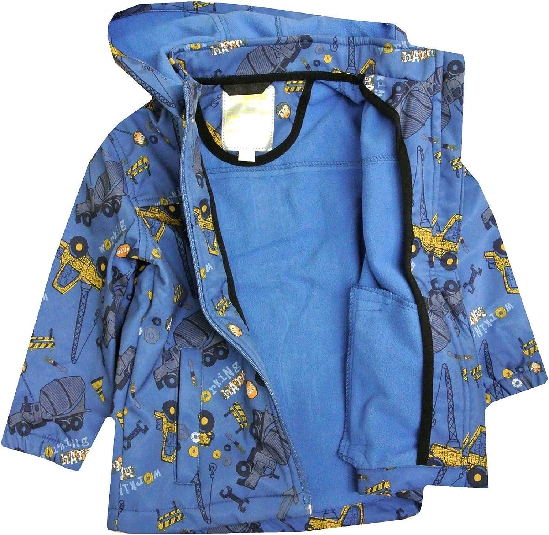 Outburst Jacke Softshelljacke Übergangsjacke Wasserfest Blau Jungen Gr.74,80