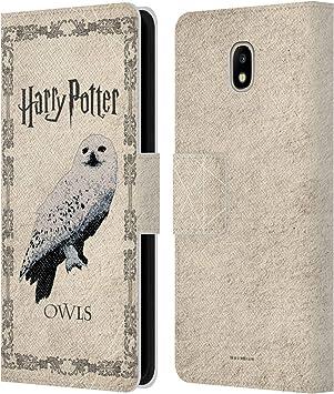 Head Case Designs sous Licence Officielle Harry Potter Hedwig Chouette Prisoner of Azkaban III Coque en Cuir à Portefeuille Compatible avec Samsung ...