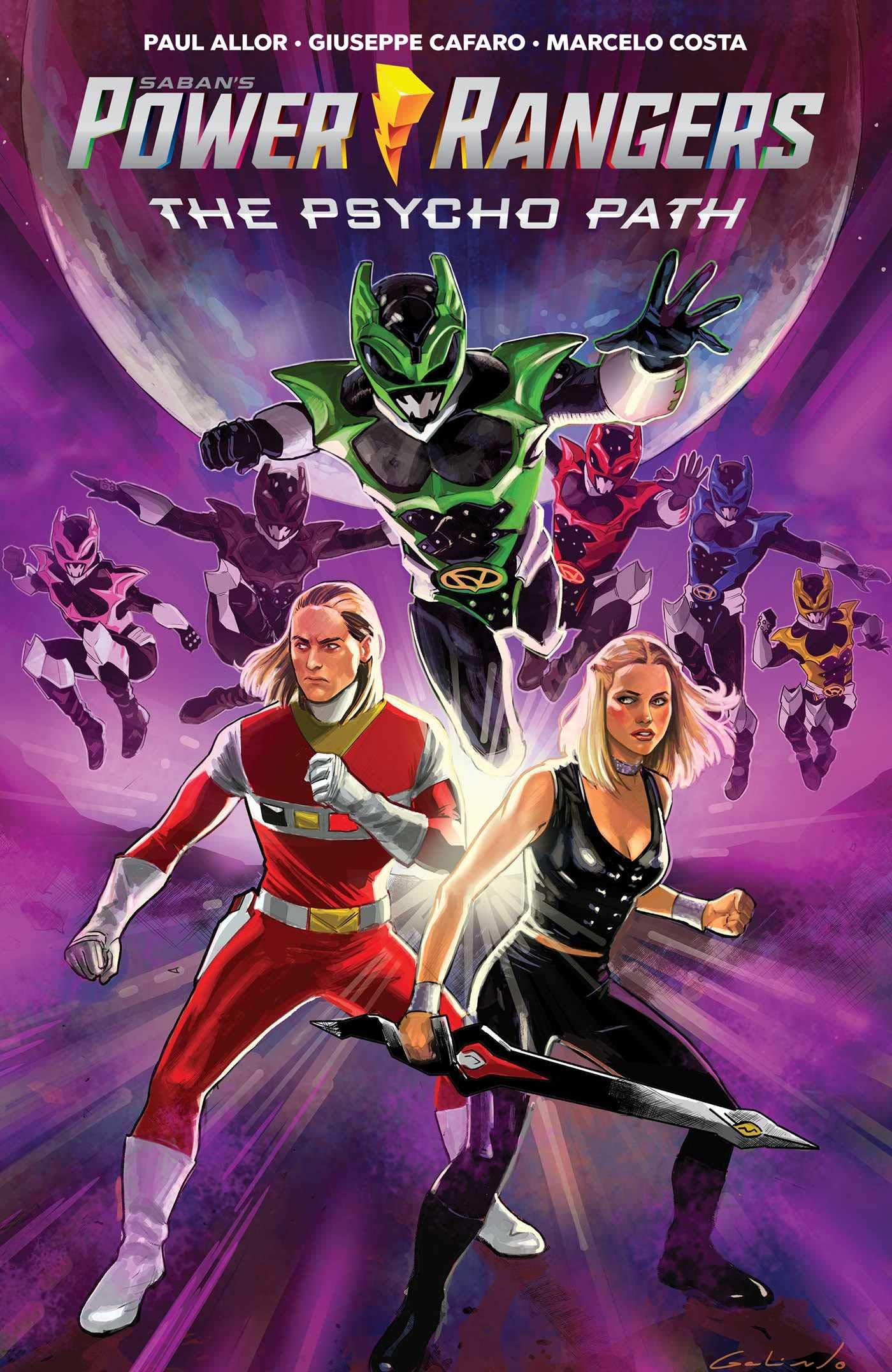 Saban's Power Rangers Original Graphic Novel: The Psycho Path (Mighty Morphin Power Rangers) by Boom! Studios