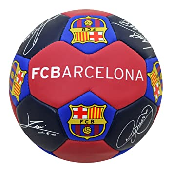 Official FC Barcelona Nuskin Signature Football - Size 3