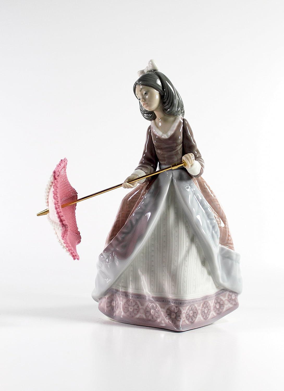 Lladro Jolie Collectible Figurine 05210 Retired Glazed Finish