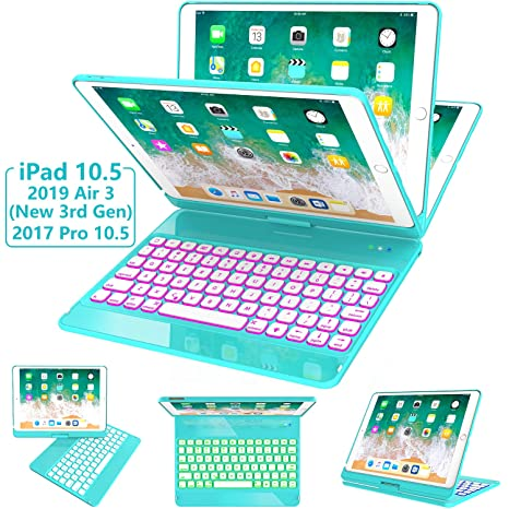 Amazon.com: Greenlaw - Funda con teclado para iPad Pro 10.5 ...
