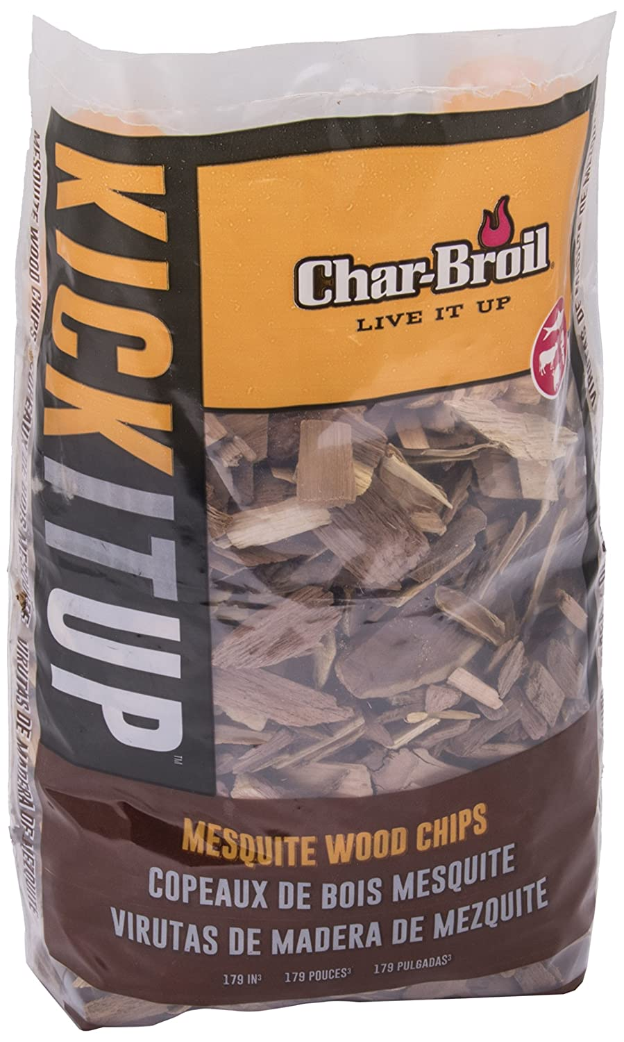 CHAR-BROIL CharBroil 140554 – Smoke Chippings 4762-mezquite, Multi-Colour 140 554