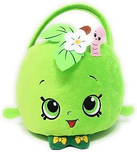 Paper Magic Shopkins Plush Basket (Green Apple)