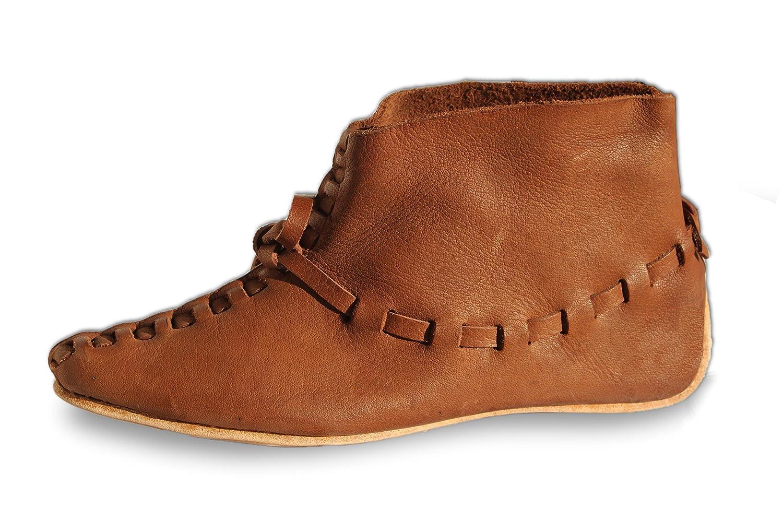 CP-Schuhe wendegenähte Wikingerschuhe Mittelalterschuhe mit Riemenverschluss