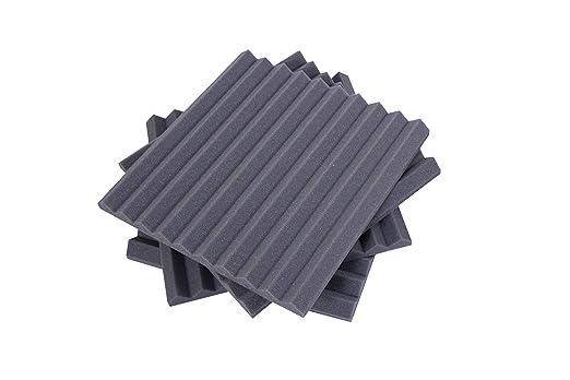 4 opinioni per Pannelli Fonoassorbenti Monopiramide 50x50x4 D21 pacco da 20