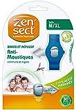 ZENSECT Bracelet Protecteur avec 2 Recharges pour Adulte