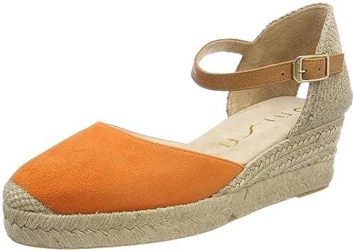 Unisa Cisca_18_KS, Alpargata para Mujer, Naranja (Mandarine), 39 EU: Amazon.es: Zapatos y complementos