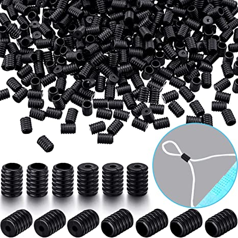 Cord Locks Toggles Face Cover Adjustable Lanyard Buckle Elastic Cord Stoppers