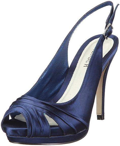 Donna Eleganti Blublu Brown 40 Scarpe Eu 04429 Menbur Scuro 6OwTRqcfp