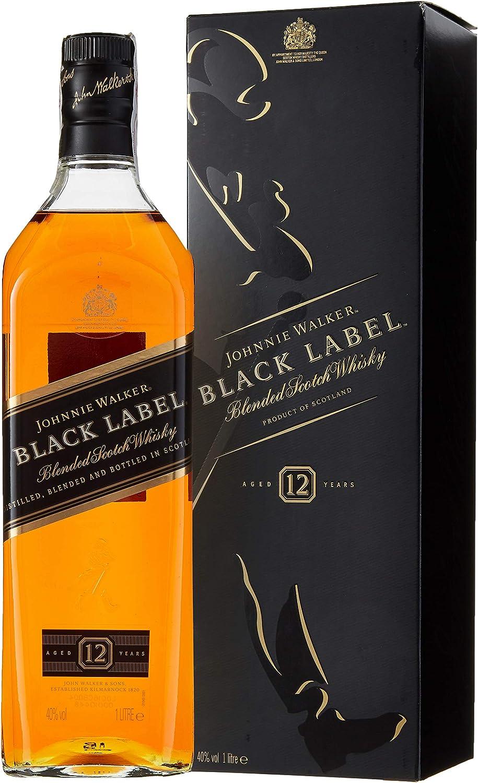 Johnnie Walker Black Label Whisky - 1000 ml