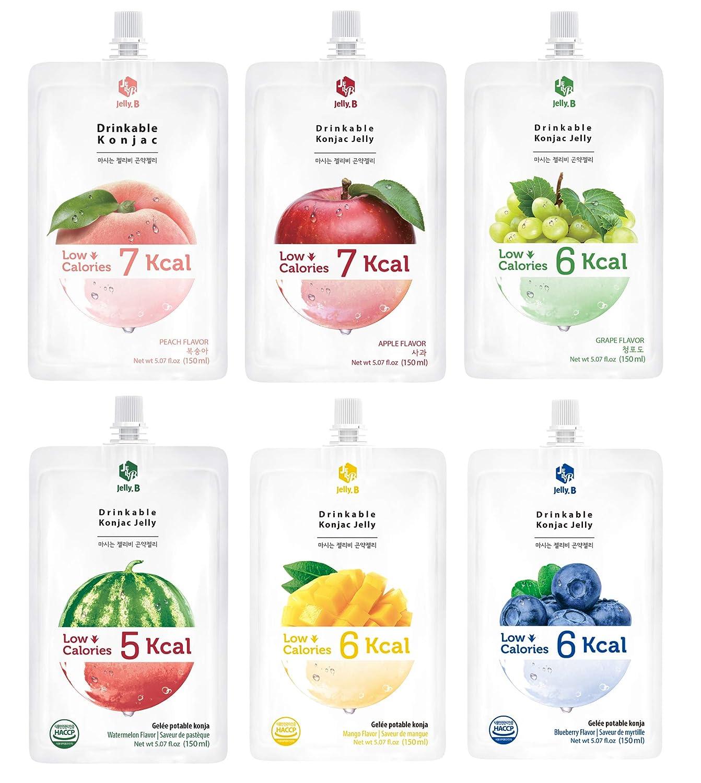 diet water jelly korean