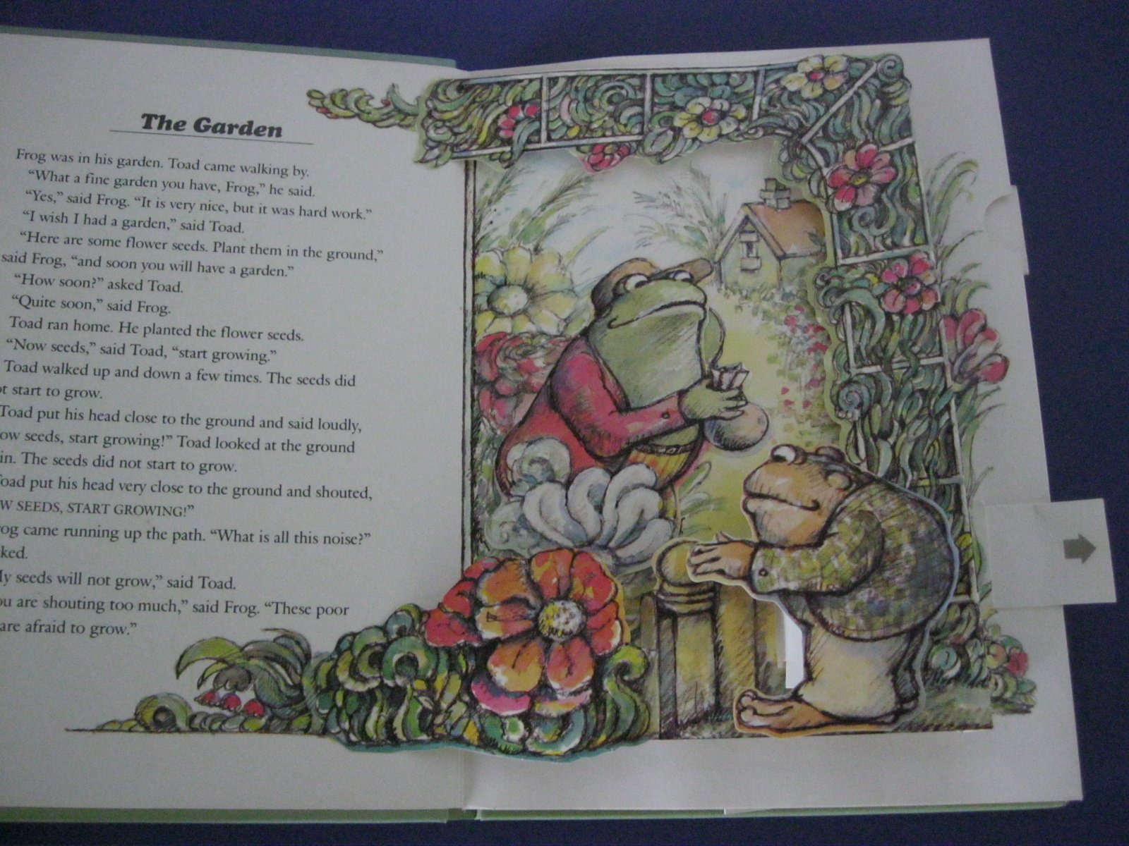 the frog and toad pop up book arnold lobel 9780060239862 amazon