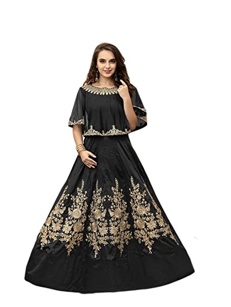 4ca923df2b Amazon.com: Indian Bollywood Designer Women Ethnic Traditional Wear  Anarkali Salwar Kameez Semi-stitched: Clothing
